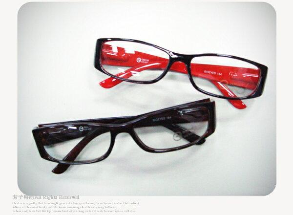 ☆芳子時尚☆【A210015】99生活抗UV400時尚平光豹紋膠框眼鏡