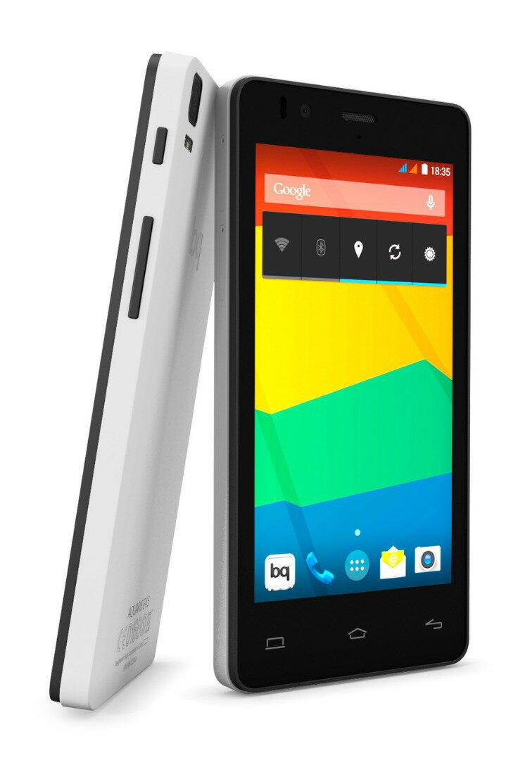 BQ AQUARIS E4 8GB BLANCO. TELEFONO LIBRE 4