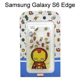 復仇者聯盟Q版透明軟殼 [鋼鐵人] Samsung G9250 Galaxy S6 Edge【正版授權】