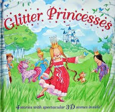 Glitter Princesses 3D立體兒童故事書 公主童話故事集 *夏日微風*