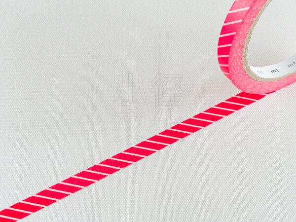 *小徑文化*日本和紙膠帶 mt sealer - 斜紋 . 赤 ( MTSEA035 )