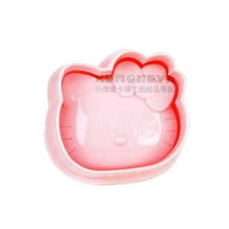 〔小禮堂〕Hello Kitty 臉形飯糰壓模《粉紅》創意KT便當輕鬆做