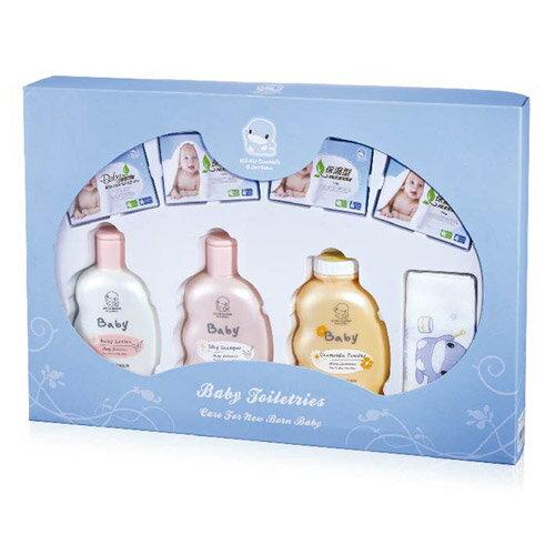 【奇買親子購物網】酷咕鴨KU.KU. 嬰兒沐浴禮盒/附提袋