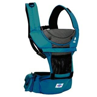 『121婦嬰用品館』PUKU 多功能腰凳揹巾 - 藍 0