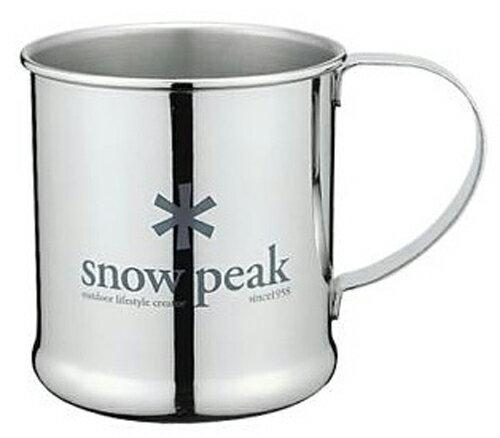 【鄉野情戶外專業】 Snow Peak  日本   Stainless Steel Cup 不鏽鋼單層杯 _E-010R