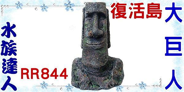 【水族達人】美國授權販售《復活島大巨人RR844》摩艾巨石/石像/巨像