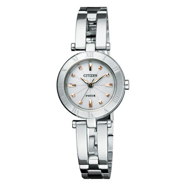 CITIZEN星辰WICCA(EP5840-52A)典雅手環時尚腕錶/白面23mm