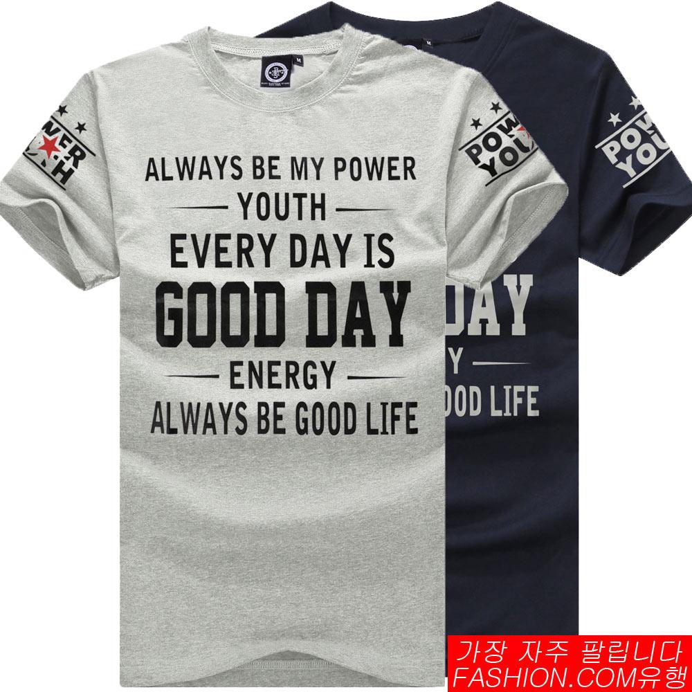DITION 經典標語GOOD DAY印字短T 0