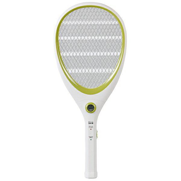 【大家源】三層充電式電蚊拍-網球拍造型款。蘋果綠/TCY-6143