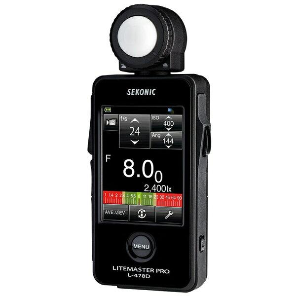 ◎相機專家◎ SEKONIC L-478D 觸控式測光表 華曜公司貨