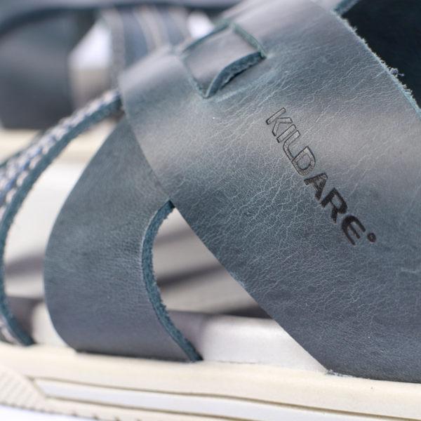 Kildare 巴西編織休閒涼鞋 藍 男 5