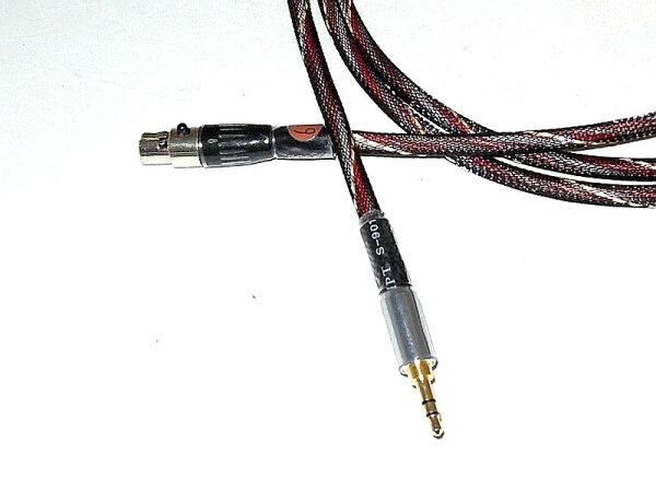 志達電子 CAB067/1.8 AKG 耳機升級線 1.8M (Mini XLR TO 3.5mm) K702 K240 K271