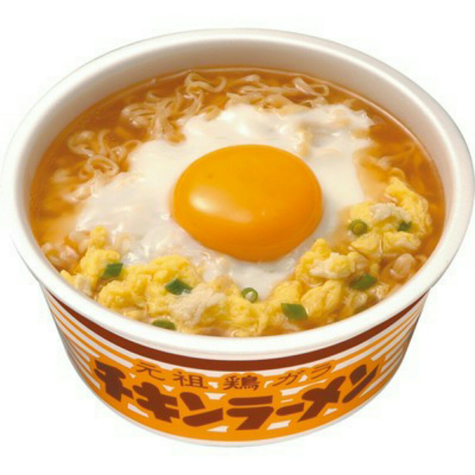 有樂町進口食品 日本旅遊必敗 暢銷經典NO.1 日清元祖雞碗麵 4902105002605 0