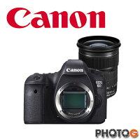 Canon佳能到【12期零利率】Canon EOS 6D KIT (含 原廠 24-105mm IS  f3.5-5.6  彩虹公司貨) 【9/30前 申請送 64G+LP-E6N 原廠電池、 隨貨 送 32G記憶卡+清潔組+保護貼】