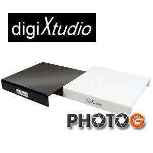 digiXtudio 20x20cm 攝影棚專用黑白珠寶台(鏡射台) (網拍 商品 首飾 倒影)