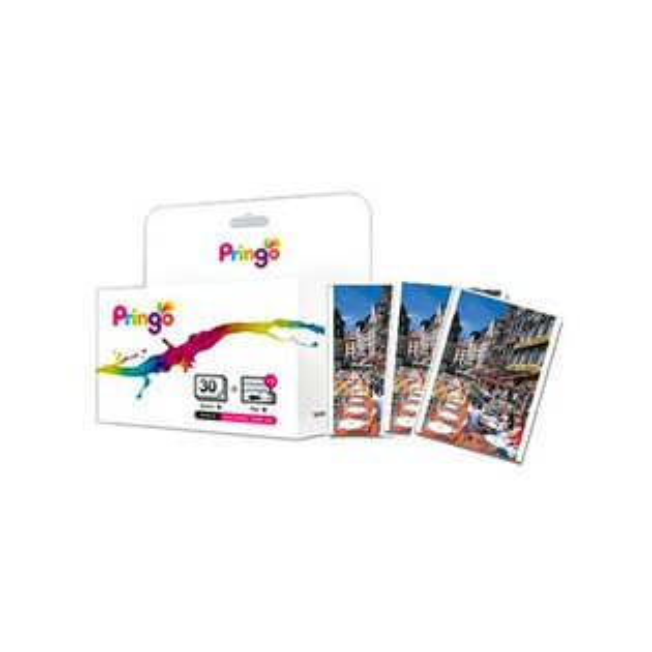 Hiti Pringo P231 隨身印相紙 P30 ( 30張相片紙+色帶 )