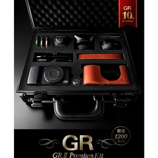 【送64G 記憶卡+清潔組】 Ricoh ( PENTAX ) GR II GR2 Premium KIT 10週年紀念版 精裝版 內容9種專屬配件 (富堃公司貨)