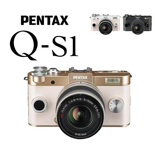 Pentax Q-s1 kit   迷你微單眼 送32G+清潔組 (含5-15mm 鏡頭,富堃公司貨) Q後繼機