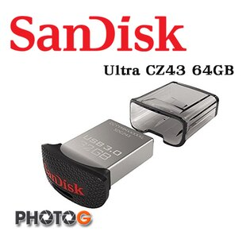 SanDisk Ultra 64G 64GB  CZ-43 CZ43 隨身碟 USB 3.0 版本 SDCZ43-064G-G46  (公司貨) 傳輸速度達 130MB