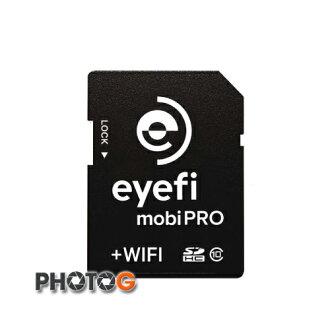 Eye-Fi 16G 16GB SD SDHC mobi Pro Class 10 無線傳輸 支援 RAW 檔 記憶卡 EyeFi eye fi (富? 公司貨)