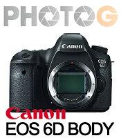 Canon佳能到【12期零利率】Canon EOS 6D BODY 單機身 不含鏡頭  【9/30 前 申請送 SDXC64G 記憶卡+LP-E6N 原廠電池、 隨貨送 32G 記憶卡+清潔組+保護貼】(彩虹公司貨)
