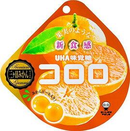 現貨供應 日本 UHA味覺糖_コロロ果汁軟糖/QQ軟糖(橘子)
