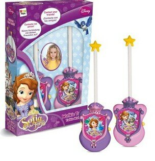 【winnie小舖】Disney小公主蘇菲亞Walkie Talkie對講機玩具