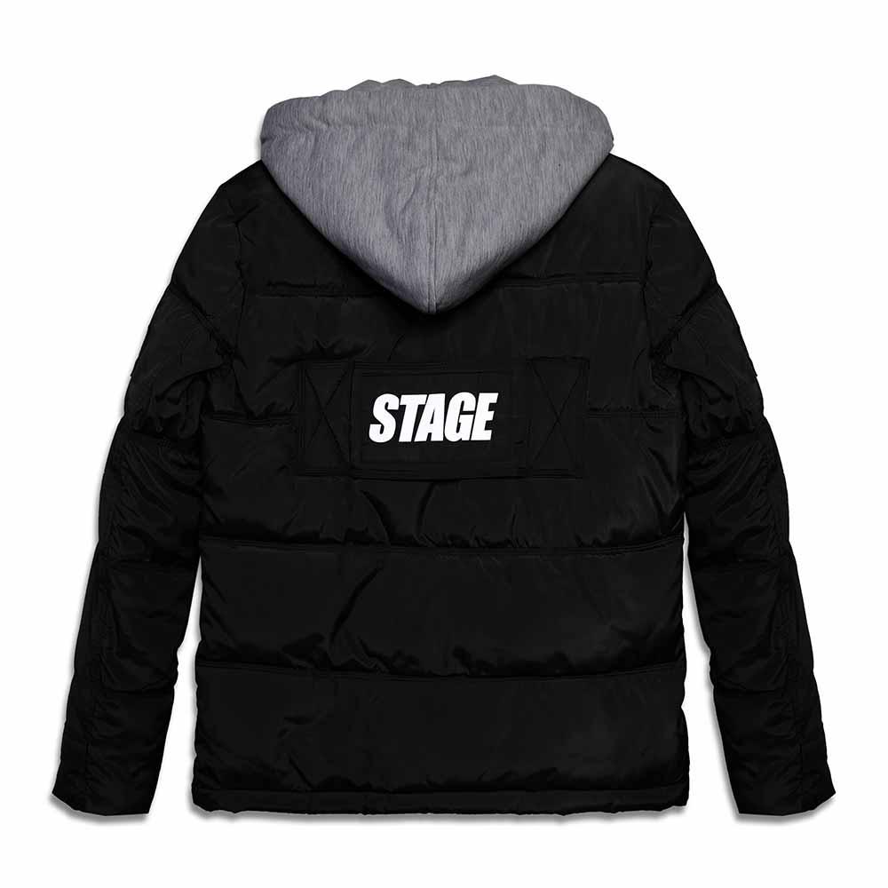 STAGEONE STG  COAT 黑色 / 綠卡其色 兩色 6
