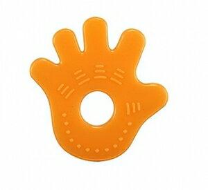 台灣【Simba 小獅王】柑橘矽膠固齒器(手) - 限時優惠好康折扣