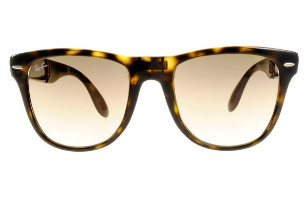 Ray Ban 雷朋 琥珀玳瑁 太陽眼鏡 RB4105 折疊 3