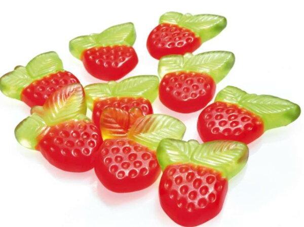 萌翻啦[Baeren-Treff] 小熊軟糖*果汁系列(覆盆子/黑醋栗) 草莓造型-500g