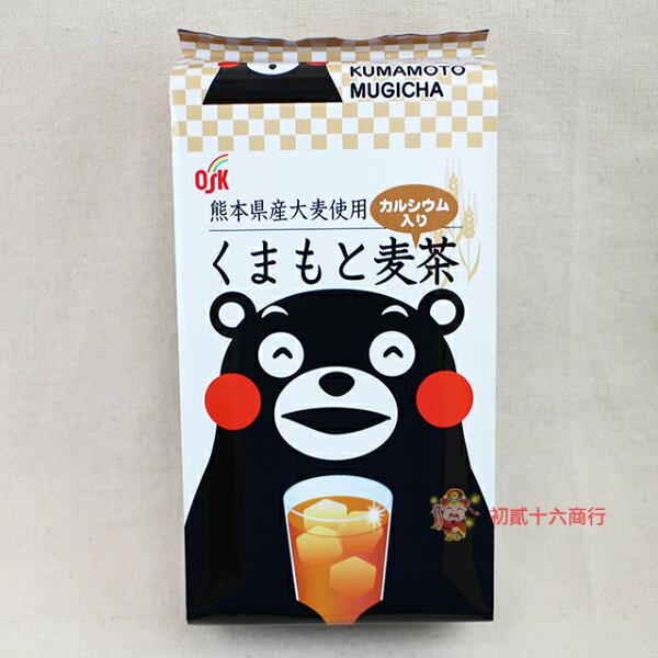 【0216零食會社】日本-OSK熊本熊麥茶176g