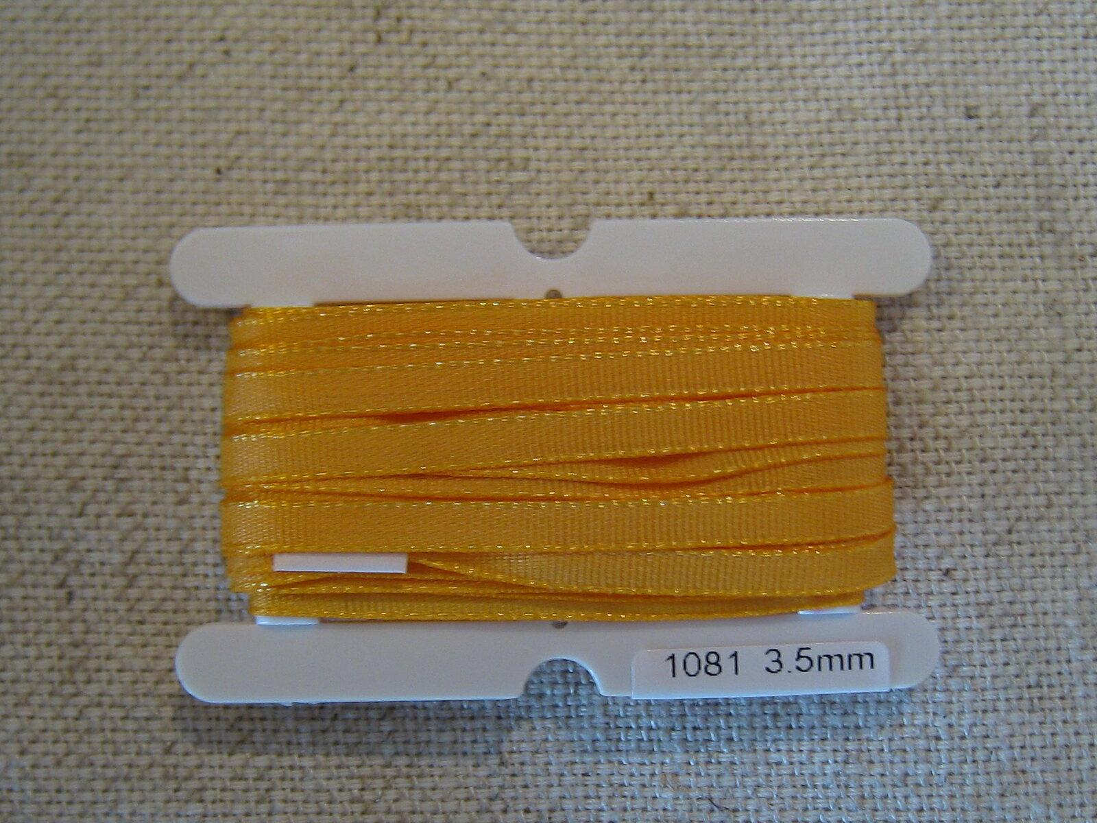 Petals緞帶刺繡- 橫紋帶 3.5mm (十九色) 4