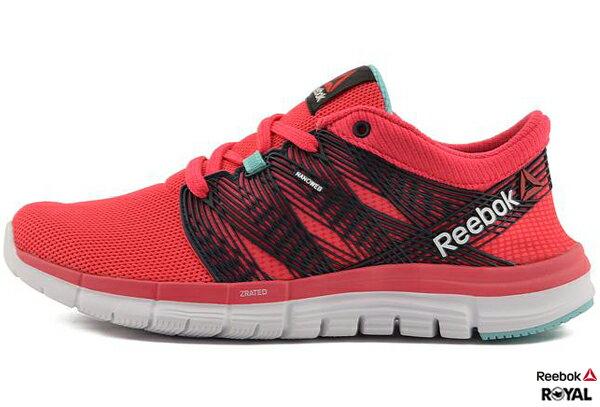 Reebok 新竹皇家 ZQUICK GODDESS 桃/黑 Running 慢跑鞋 女款 NO.I5552