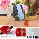 【aife life】果凍減壓負離子手錶(大)/石英錶手環手腕運動手錶矽膠橡膠拍拍錶