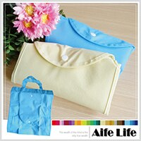 【aife life】折疊式不織布環保購物袋/環保袋折疊購物袋環保袋手提購物袋客製化