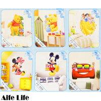 ~aife life~迪士尼3D立體壁貼 Disney維尼 壁貼 居家佈置 裝飾貼紙 窗貼