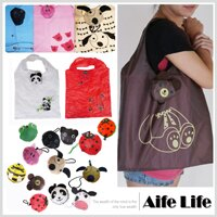 【aife life】大頭動物折疊環保袋/購物袋,為地球多盡一份心力,好攜帶贈品禮品最大方!! 0