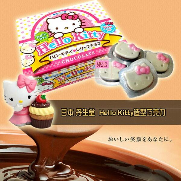 日本丹生堂占卜巧克力 Kitty 抹茶味Kitty