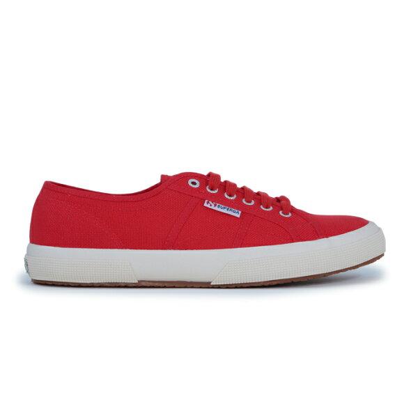 【SUPERGA】義大利國民鞋-紅