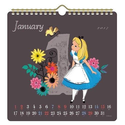 迪士尼 愛麗絲 壁掛月曆 904~659