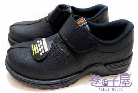 【巷子屋】Hanama悍馬 男款鋼頭多功能防潮鞋 T型排壓 一體成型 [883] 黑 MIT台灣製造 超值價$590