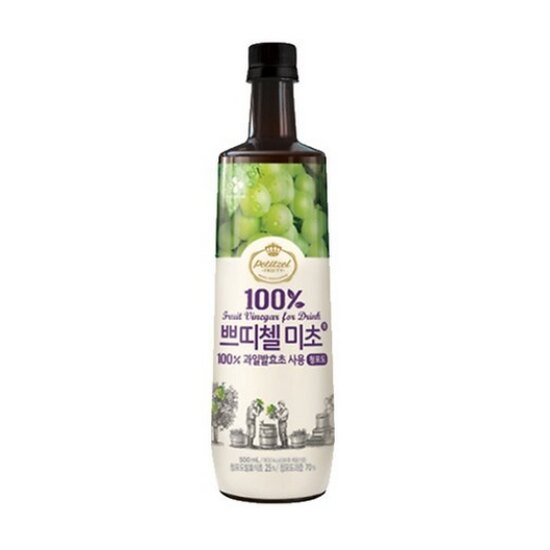 有樂町進口食品 韓國人氣水果醋 CJ水果醋500ml 青蘋果醋 8801007333038 0