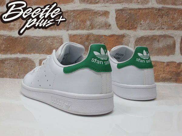 女生 BEETLE PLUS ADIDAS ORIGINALS STAN SMITH 白綠 愛迪達 復古 休閒鞋 余文樂 女鞋 M20605 2