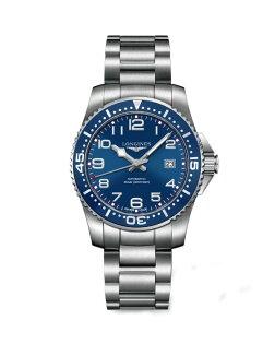 LONGINES L36944036深海征服者潛水機械腕錶/藍面藍圈39mm