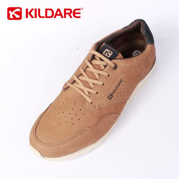 Kildare 巴西綁帶休閒鞋 淺棕 男 慢跑 2