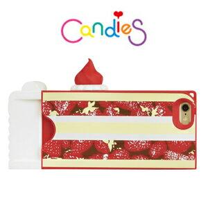 【Candies】Candies草莓小蛋糕(紅)IPhone6 4.7 inch