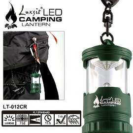 ^~ Luxsit ^~ LT~012CR LED mini露營燈 鑰匙圈燈 隨身燈 綠色