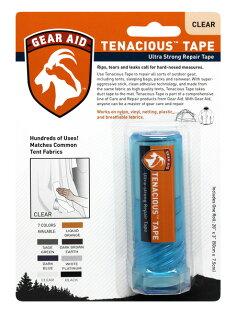 【露營趣】中和 McNett Tenacious 透明修補片-膠帶狀 補丁 GORE-TEX 雨衣 雨褲 10691