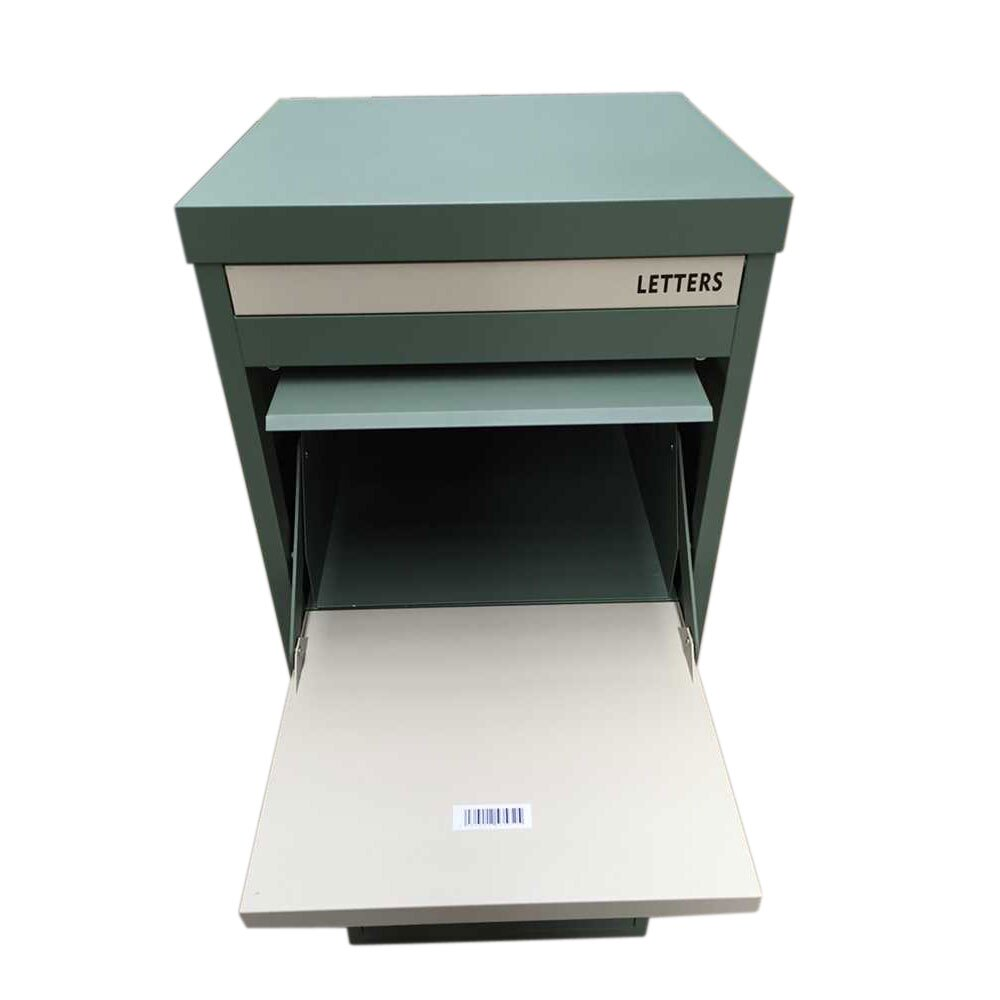 Smart Parcel Box Extra Large Parcel Drop Box Green for Secure Multiple ...